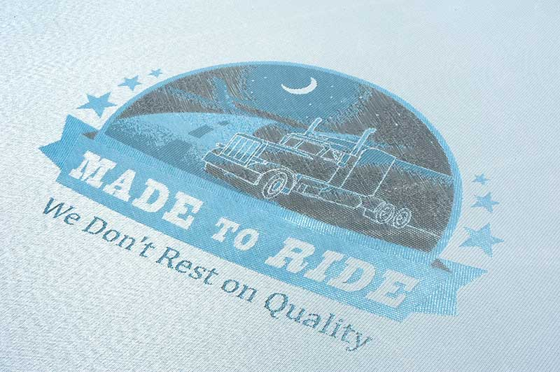 Made to Ride mattress logo